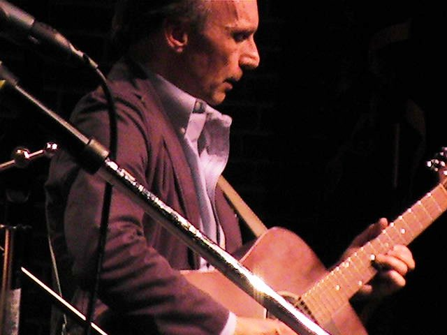 Singer-songwriter Lawrence C. Connolly will perform at Riley's Pour House