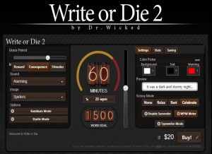 Write or die 2