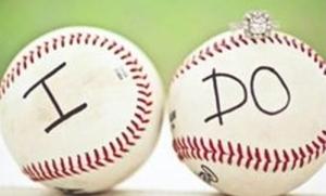 Baseball and weddings