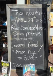 Penguin Sign Window